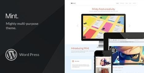 Mint – Mighty Multi-Purpose WordPress Theme Download | Best Wordpress Themes | Scoop.it