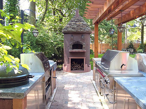 12 Amazing Outdoor Kitchens : DIY   Swimming Pool Design   Scoop.it