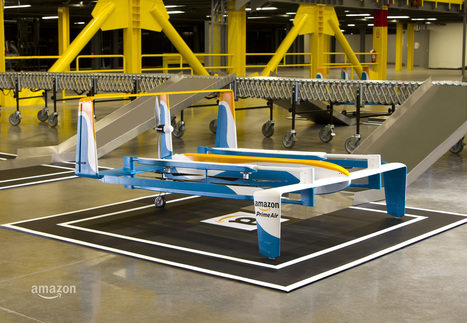 Amazon Shows Off New Delivery Drones With 'Top Gear's' Clarkson | Post-Sapiens, les êtres technologiques | Scoop.it
