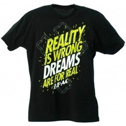 2Pac Dreams R 4 Real T-Shirt black T.A.S.F. 2pac Store | Authentic 2pac gear | 2pac shirt | Scoop.it