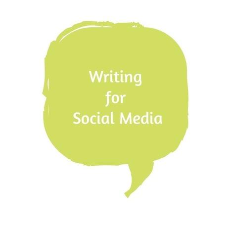 Writing for Social Media: A Training Workshop   The Social Lights ...   Social branding   Scoop.it