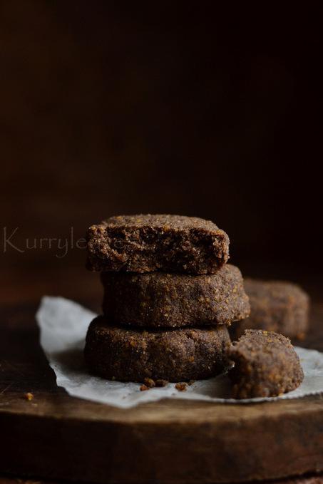Vegan Ragi Cookies | Gluten free Red Millet Cookies | kurryleaves | My Vegan recipes | Scoop.it