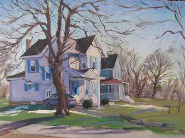 Upstate Monet: Plein Air Painter Carlton Manzano   Central New York Traveler   Scoop.it