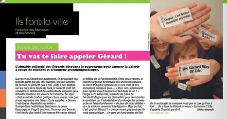 Tu vas te faire appeler Gérard ! | LES RENNAIS | Les Gérards | Scoop.it