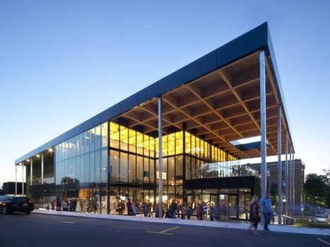 The Mont-Laurier Theatre by FABG Combines Local Forestry and New Technologies | sustainable architecture | Scoop.it