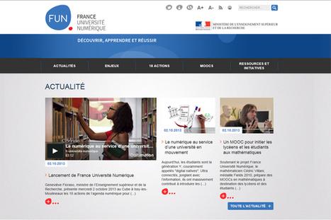 France Université Numérique | Recherche sur l'usage du numérique dans l'enseignement | Scoop.it
