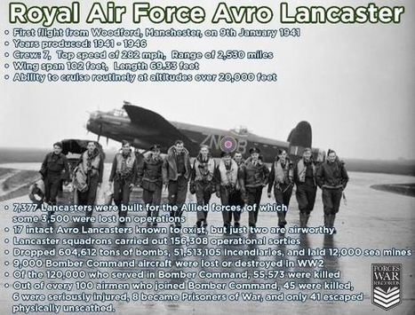 On This Day 9th Jan 1941 Maiden Flight Of The Lancaster Bomber | Forces War Records | 460 Squadron - Bomber Command: 1942-45 | Scoop.it