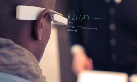 Hands free BitCoin payments with Google Glass and Eaze: Just nod twice | project specific | Scoop.it