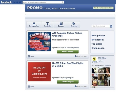 How to Make Your Facebook Contests Stand Out | Social Media Examiner | In-Bound Marketer & Business Unbound | Scoop.it