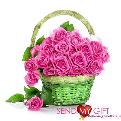 Bunch of Pink Roses With Bouquet - Send My Gift | Send My Gifts | Scoop.it