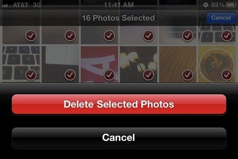 How to Delete Multiple Photos Directly on iPhone | OSXDaily | How to Use an iPhone Well | Scoop.it