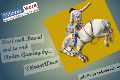 First Web Based End To End Rodeo Gaming By VibrantWorx | website design and development | Scoop.it