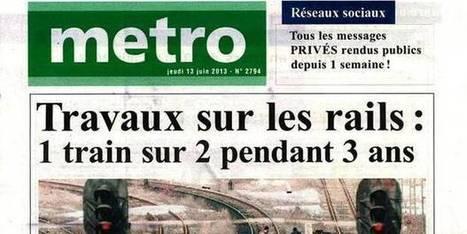 """Metro"" choque avec une pub pour Nivea | EcritureS - WritingZ | Scoop.it"