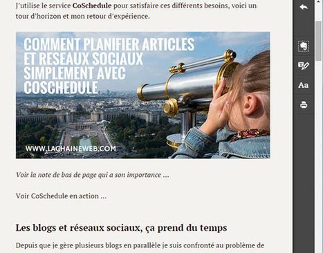 10 raisons d'utiliser Evernote si vous gérez un blog et les réseaux sociaux - La Chaine Web | Evernote | Scoop.it