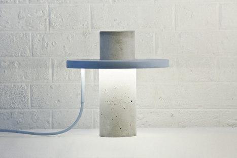 TOTEM la lampe béton par Alexandre Dubreuil - BED | Le béton créatif et poétique | Scoop.it