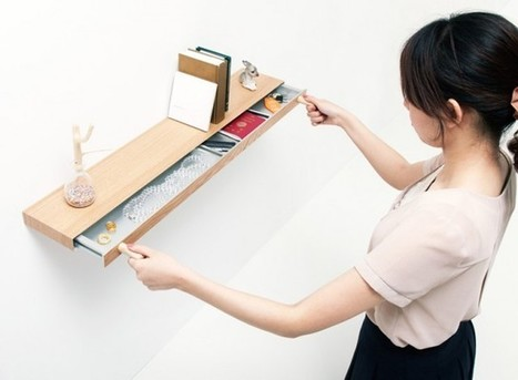 Creative Shelf Design by Architects Torafu | 2012 Int