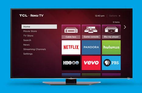 Roku TV, les télévisions connectées Roku disponibles en pré ... - Connected-Objects.fr | Télévision connectée | Scoop.it