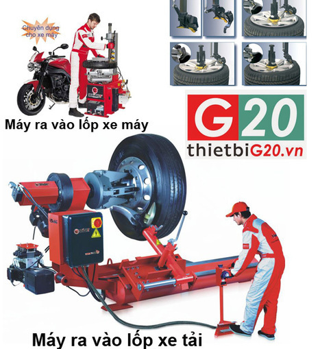 Máy ra vào lốp - máy tháo vỏ làm lốp xe ô tô, xe tải | Dịch vụ điện lạnh | Scoop.it