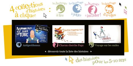 La Souris Qui Raconte propose des histoires et contes en ligne pour enfant | Red Herring Tablette | Scoop.it