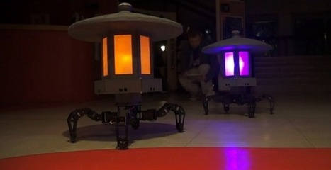 Toro-bot, une lampe de jardin animée qui possède sa propre 'personnalité' [Vidéo] | M2B Gonflable | Scoop.it