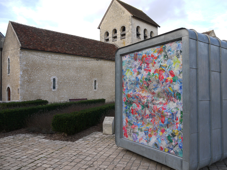 Claude Briand-Picard:: Stained Glass, plastic packaging | Art Installations, Sculpture, Contemporary Art | Scoop.it