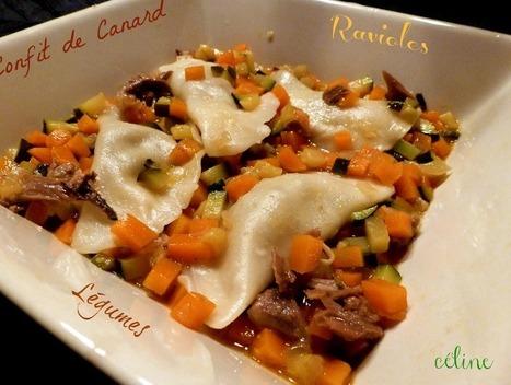 Esprit Foie Gras - Ravioles de confit de canard du Gers | Restaurants et produits culinaire toulouse et Gers | Scoop.it