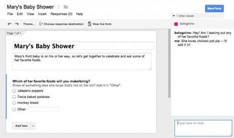 Google Forms, rediseñado para ser más rápido y con opciones de colaboración | Orientar | Scoop.it