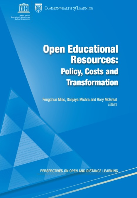 Open Educational <br/>Resources: <br/>Policy, Costs and <br/>Transformation: libro descargable | Maestr@s y redes de aprendizajes | Scoop.it