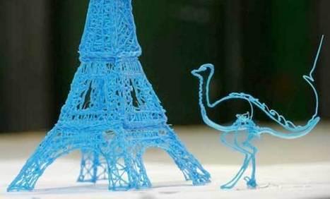 Crean un bolígrafo que escribe en 3D | Diseño Web en Colombia, 3D SEO y Social Media | Scoop.it