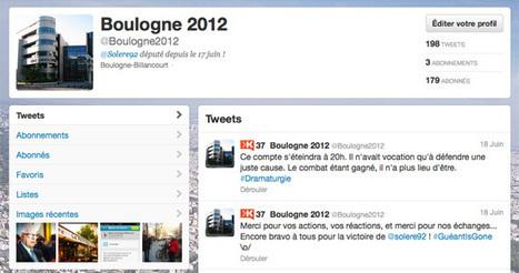 La campagne des législatives et les réseaux sociaux : Le cas de Boulogne-billancourt|L'Aristocraft | Bien communiquer | Scoop.it