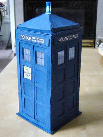 How to make a TARDIS model   AzraelOkami   Scoop.it