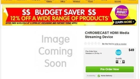 Dick Smith Will Soon Be Selling The Chromecast In Australia - Lifehacker Australia   Chromecast   Scoop.it