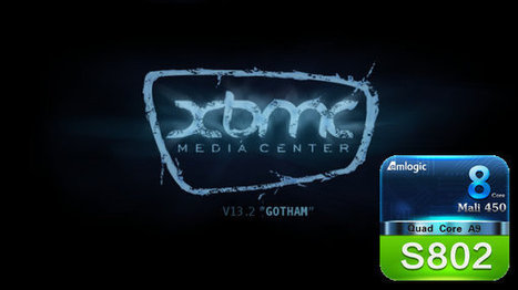 XBMC 13.2 Android and Source Code for Amlogic S802 Released | Embedded Systems News | Scoop.it