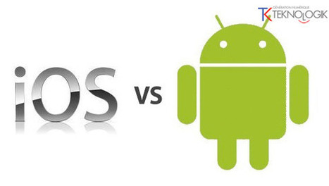 Smartphones : Android devant iOS, Samsung devant Apple ... | Ardesi - HighTech | Scoop.it