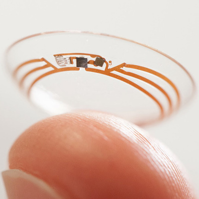 Google contact lenses could help diabetics monitor blood sugar levels | innovation, brand communication, creativity | Scoop.it