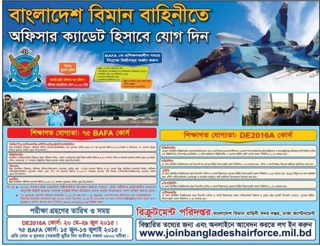 Bangladesh Air force Cadet & flying commission job 2015 | BD Result Out | BD All Result Publisher www.bdresultout.com | Scoop.it