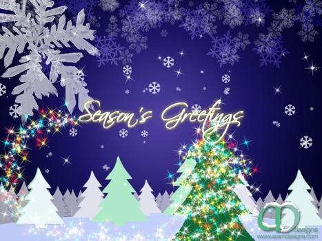 Season's Greetings & Happy New Year from AZAM designs – AZAMDesigns   AZAM Designs   Scoop.it