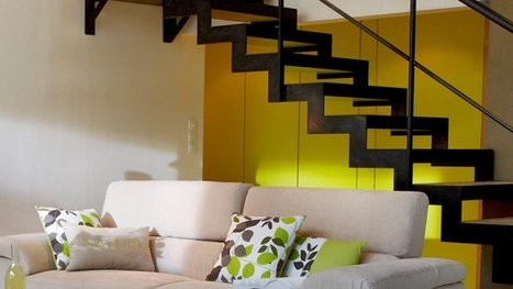 10 styles d'escaliers pour s'inspirer | IMMOBILIER 2014 | Scoop.it