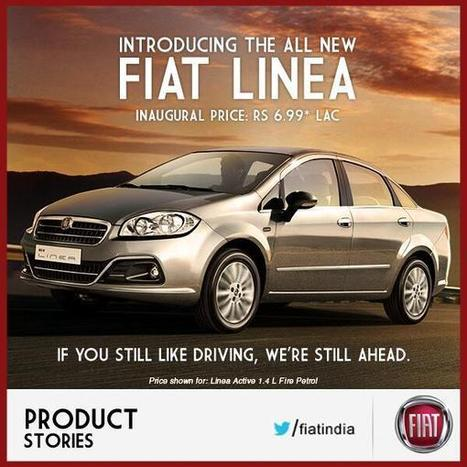 Tweet from @panditauto | FIAT launches all New Linea | Scoop.it