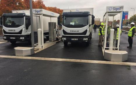 La plus grande station-service pour les véhicules au gaz inaugurée en Île-de-France | Les actus des entreprises | Scoop.it