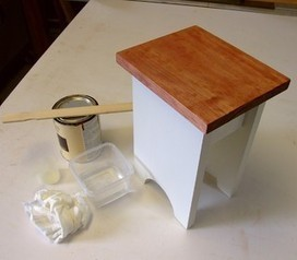 Cool Tip: Mimic Stain With a DIY Color Wash   Home and Garden Ideas   Scoop.it