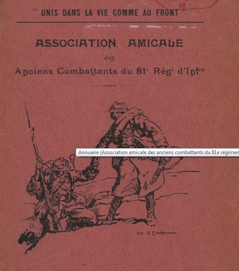 Anciens combattants | Gallica | Nos Racines | Scoop.it