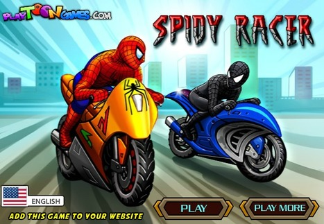 Spidy Racer - Play Your Best Spiderman Games | Ben 10 Games | Spiderman Games | Transformers Games | Scoop.it