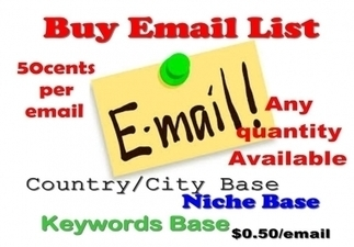 Provide Target Oriented Mailing List 12000 or more for email Marketing for $12 - SocialHawkers   SocialHawkers MarketPlace   Scoop.it