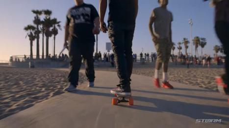 Storm : un (vrai) skateboard, électrique et pas (trop) cher, en campagne Indiegogo   ON-ZeGreen   Scoop.it
