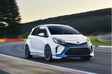 Toyota Yaris Hybrid-R Now Officially Revealed | EnviroJMS | Scoop.it