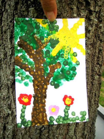 """Lines Across"": Dot Painting (Craft Stash Bash #4 - C.R.A.F.T.)   Trabalhos Manuais no Jardim de Infância   Scoop.it"