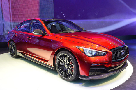 Infiniti Q50 Eau Rouge Concept bows again, now with more GT-R [w ... | Premium cars and travel | Scoop.it