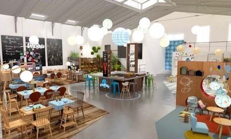 Nestlé ouvre un restaurant éphémère pour bébé | Foodly | Tendance et actu Food | Scoop.it