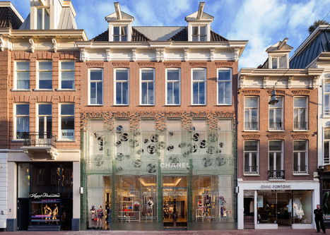 MVRDV replaces traditional facade with glass bricks that are stronger than concrete | World Architecture | Scoop.it